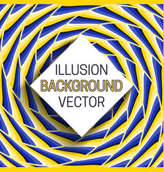 square frame with shadow on background moving vector image