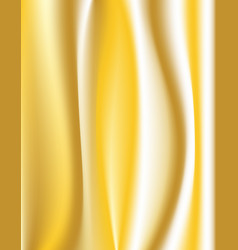 colorful silk gold background vector image vector image
