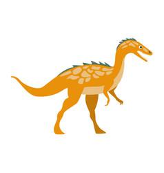 predator raptor dinosaur of jurassic period vector image vector image