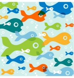 fish vector vector image vector image
