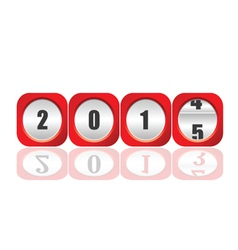 2015 counter for new year vector