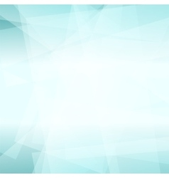 Abstract Azure Polygonal Background vector image