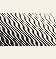 Abstract geometric halftone zigzag pattern vector