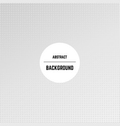 abstract monochrome background with dots vector image