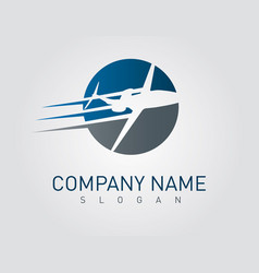 Airplane business design vector