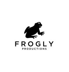 frog animal vector image