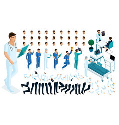 Isometric constructor of the surgeon set vector