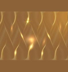 Luxury golden wallpaper art deco pattern vip vector