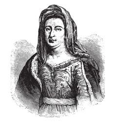 Madame de maintenon vintage vector
