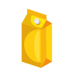 package of food icon vector image