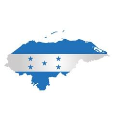 Honduras flag vector