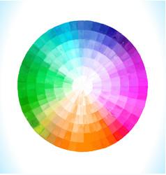multicolor spectral circ vector image