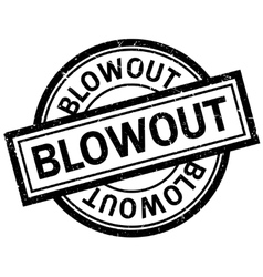 Blowout rubber stamp vector image