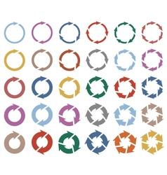 30 arrow pictograph refresh reload rotation loop vector