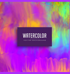 awesome watercolor texture background vector image