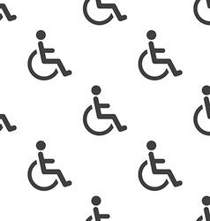 cripple seamless pattern vector image