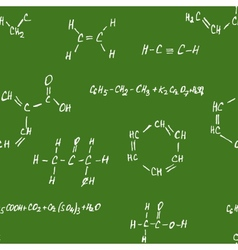 Seamlessly pettern - chemistry vector