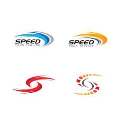 speed icon simple design vector image