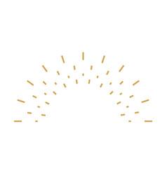 sunburst icon sunburst best quality star firework vector image