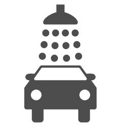 Car Wash Flat Symbol vector
