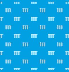 marina bay sands hotel singapore pattern seamless vector image