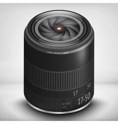 3d photo lens EPS 10 vector image