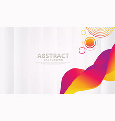 Abstract background with moving colorful dynamic vector