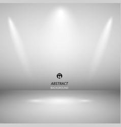 abstract of spotlight presentation on black vector image