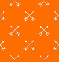 arrows lgbt pattern seamless vector image