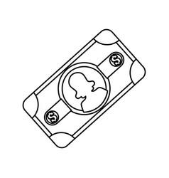 billet of money vector image