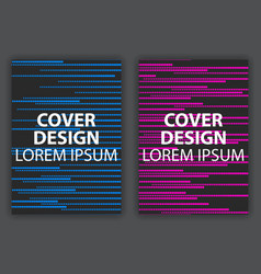 cover design poster halftone dotted pop art vector image