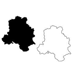 Delhi map vector