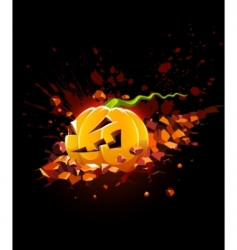 Halloween backgrounds vector image