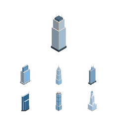 Isometric construction set of exterior vector