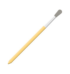 paint brush isolated on white artist paintbrush vector image