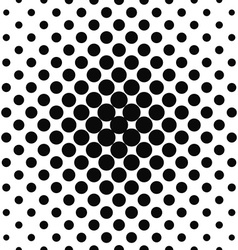 Simple monochrome repeating dotted pattern vector
