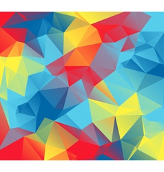 Triangular Autism Awareness Colors Abstract vector
