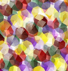 Crystals Abstract vector image