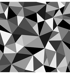 Abstract seamless rumpled triangular pattern vector image vector image