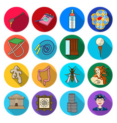 Business ecology historyand other web icon in vector