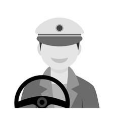 Driver Male vector