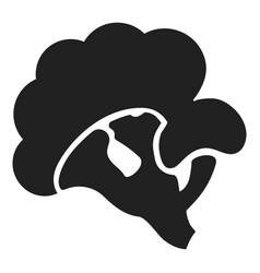 eco broccoli icon simple style vector image
