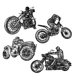 motorsports vector image