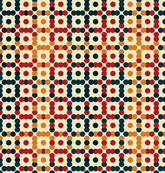 vintage points seamless pattern vector image