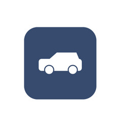 car icon on background vector image