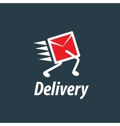 Delivery logo template vector