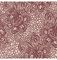 Lace seamless background vector image