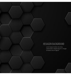 Carbon technology abstract background with vector