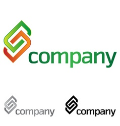 company design element vector image