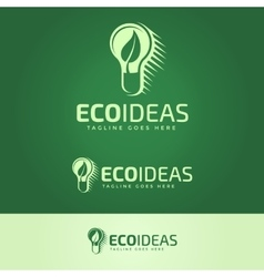 Ecology Ideas Logotype vector